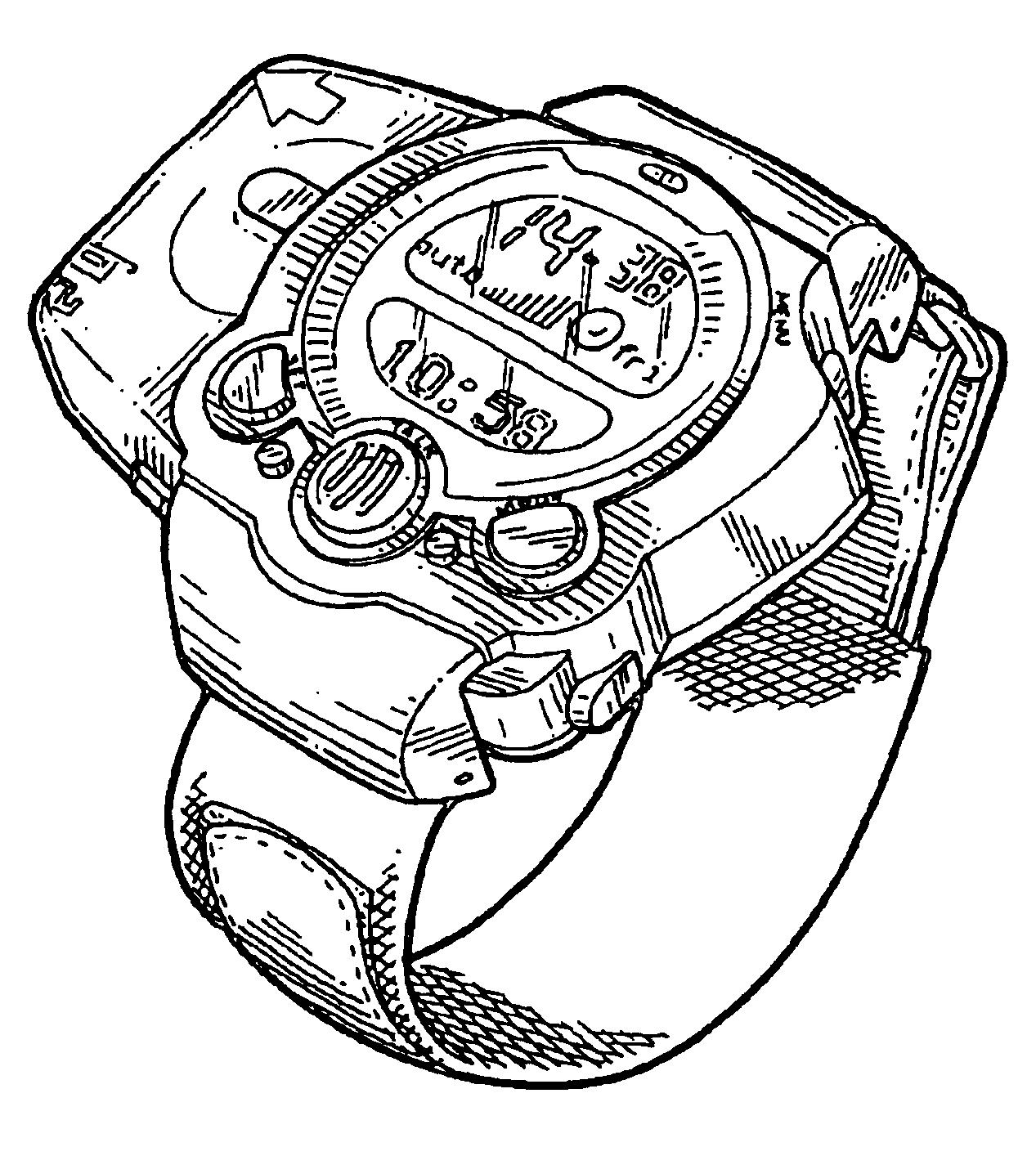 Reloj de Ben 10 para colorear