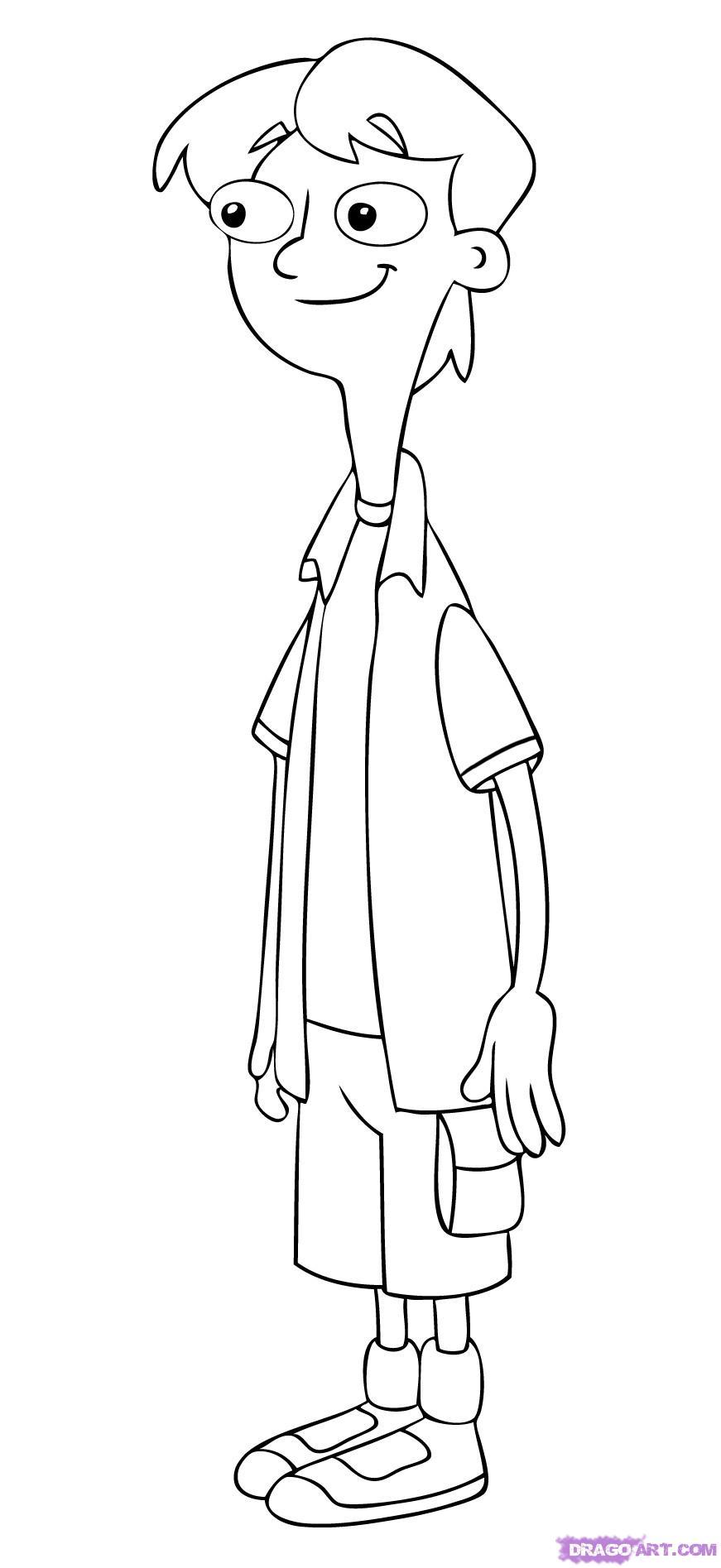Jeremy el novio de Candance, la hermana de Phineas y Ferb