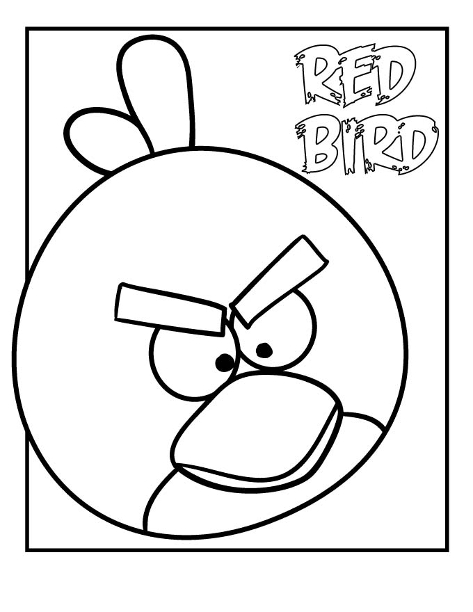Red Bird - Angry birds