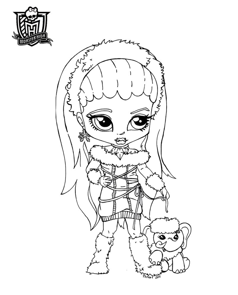 Abbey, Monster High