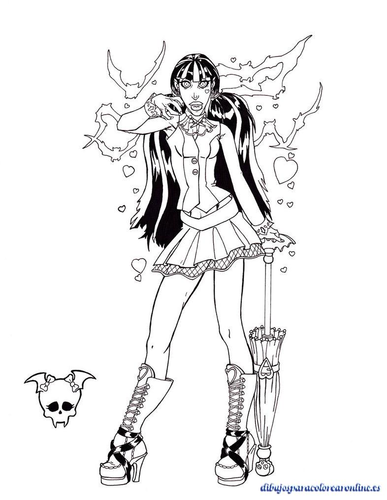 Draculaura, la vampiro de Monster High